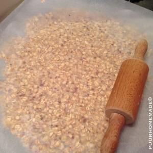 Havervlokken-noten-crackers-stap 3