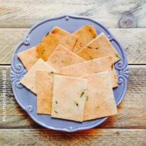 amandelcrackers met rozemarijn