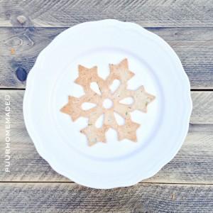 KERST kerstcrackers ster -Puur Homemade