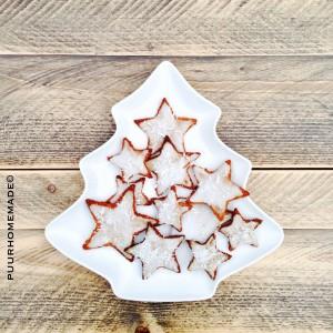 KERST sneeuwster met glazuur - Puur Homemade