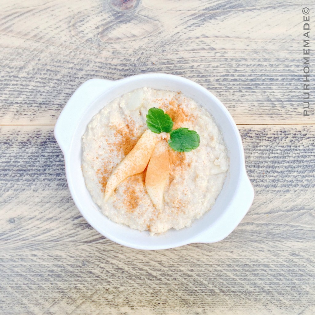 Quinoapap met peer - Puur Homemade