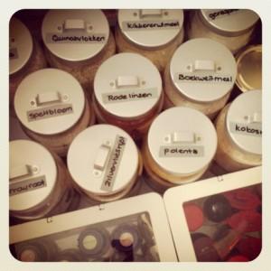 potten in keukenla - Puur Homemade