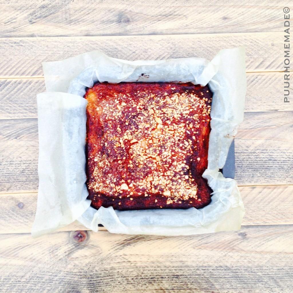 Amandel-perencake 1 - Puur Homemade