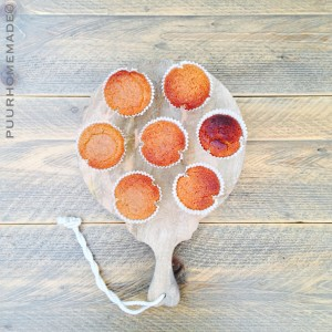 amandel-kaneelmuffin - Puur Homemade