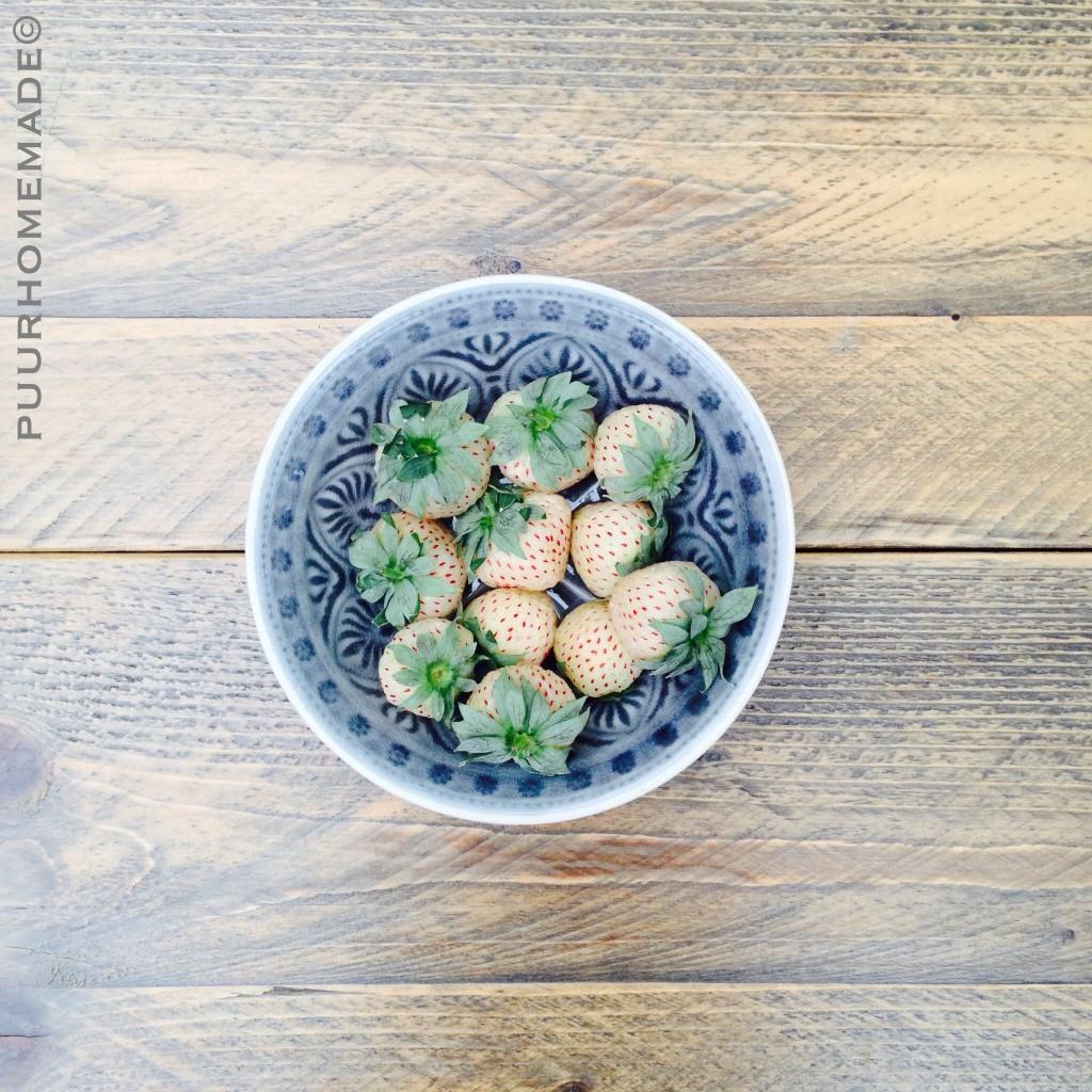 ananasaardbeien - Puur Homemade